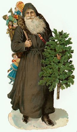 Victorian Santa Claus Images (11)