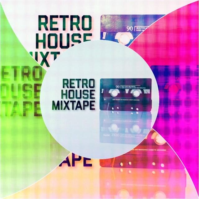 Retro House Mixtape Logo Edit