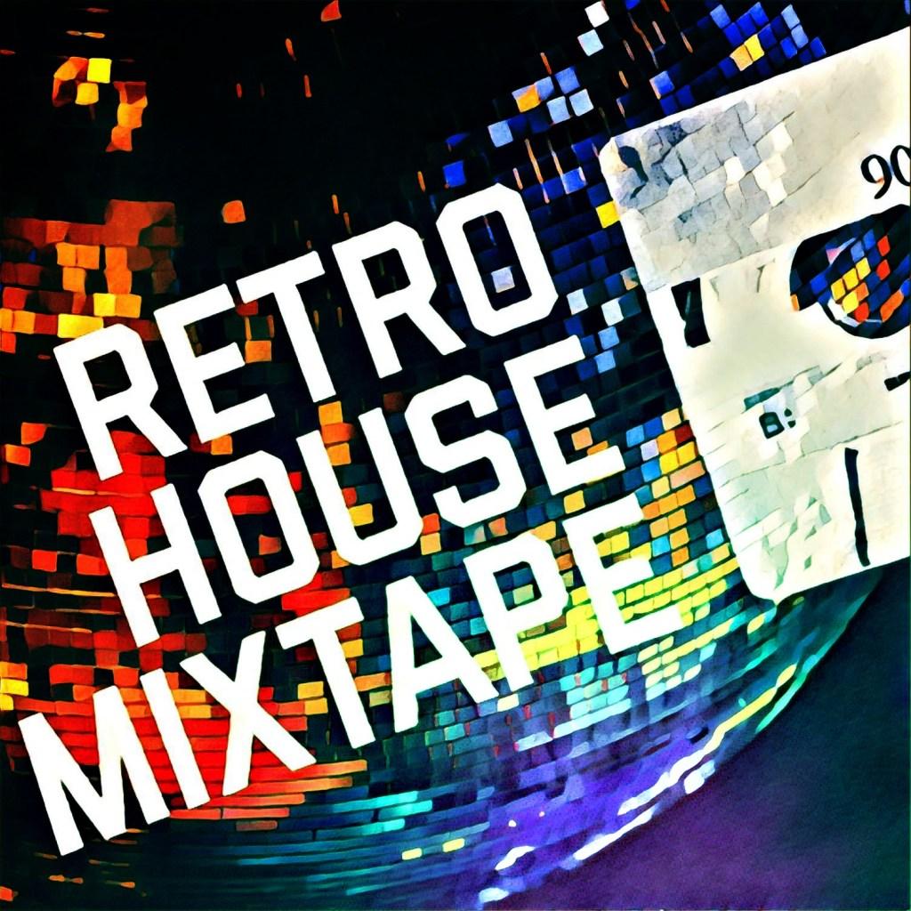 Retro House Mixtape - Mirro Ball Logo