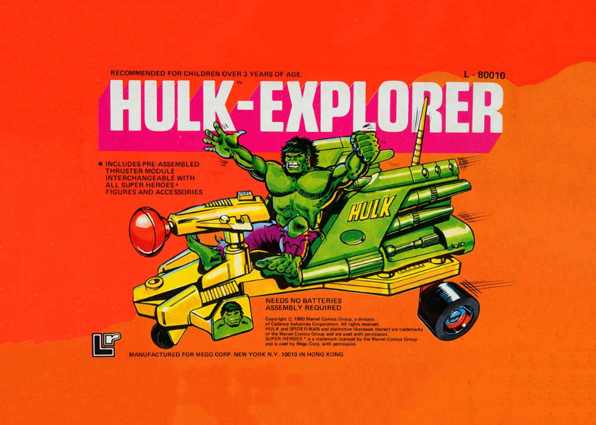 Hulk Explorer Vehicle is Hulk Tough!