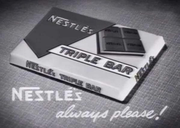 Nestle's Triple Decker Bar