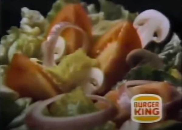 Remember the Burger King Salad Bar?