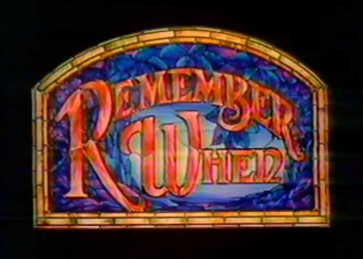 "Do you remember the HBO Series ""Remember When""?"
