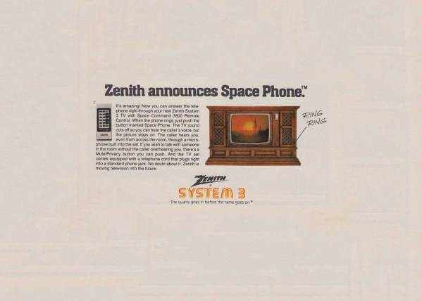 The Zenith Space Phone