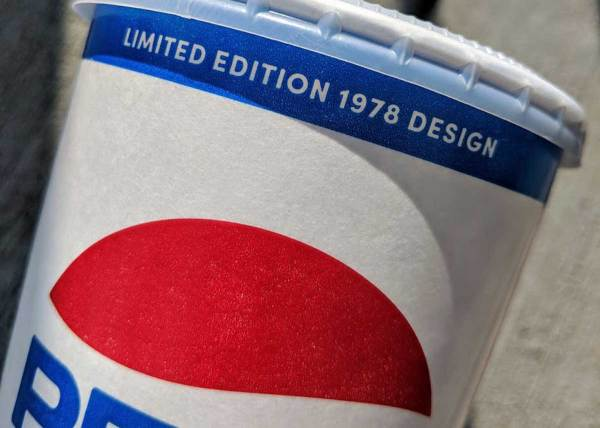 Pepsi Limited Edition 1978 Design Fountain Cups