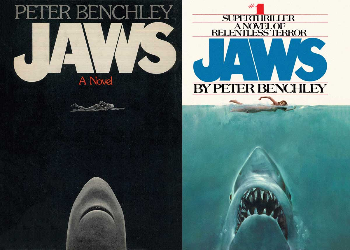 Which Jaws book cover was better?