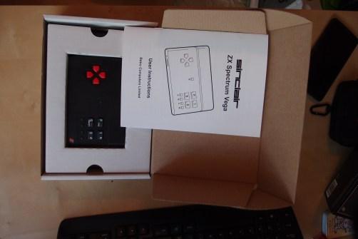 Contenido Caja Spectrum ZX Vega