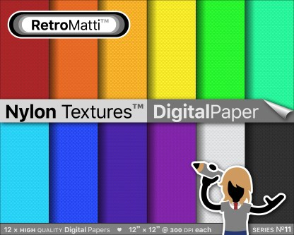 nylon textures digital paper master Listing Graphic