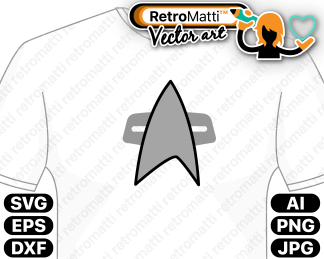 retromatti w part voyager communicator pin