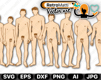 retromatti w part  naked guys