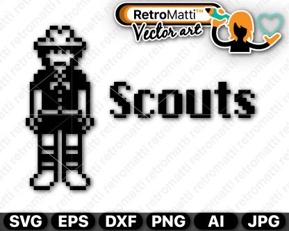 retromatti w part  pixel scouts