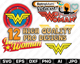 retromatti w part  wonder woman
