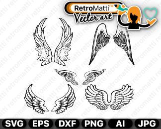retromatti w part angel wings