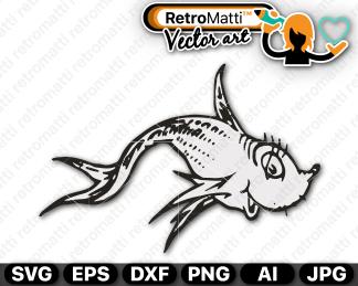 retromatti w part seuss one fish