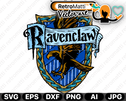 retromatti w parta harry potter ravenclaw