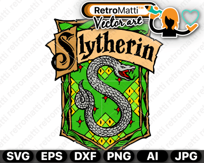 retromatti w parta harry potter slytherin