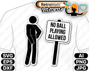 retromatti w part Recovered no ball playing allowed