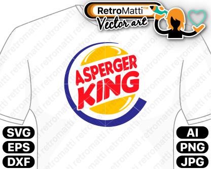 retromatti w part asperger king