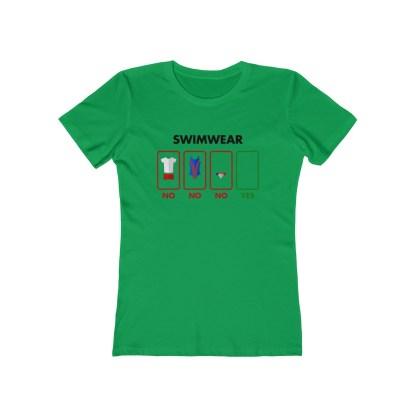 SkinnyDippingSwimwearShirt,Women&#;sLightColors