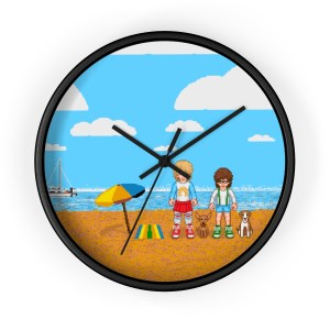 Retromatti Family Wall clock