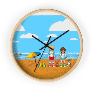 Retromatti Family Wall clock