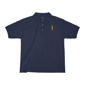 Retromatti Golden Boy Embroidered Polo