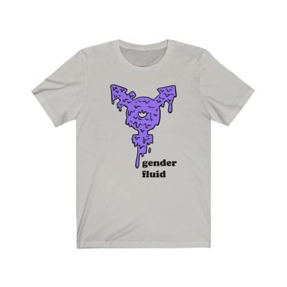 GenderFluid&#;ofcourseit&#;sunisex&#;Shirt