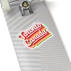 Toronto Canada retro sticker