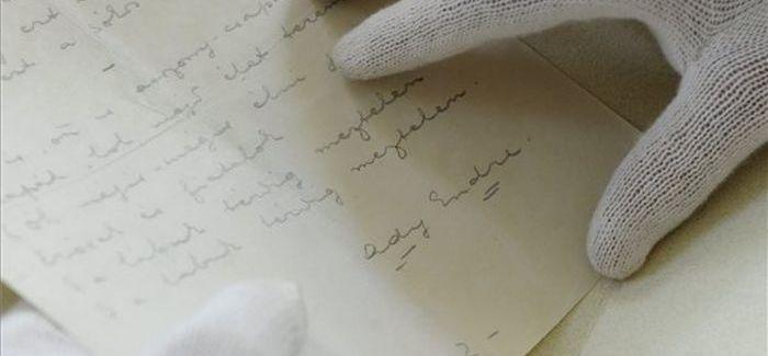 Elveszettnek hitt Ady Endre-kézirat került el