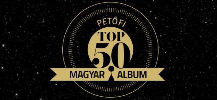 Petőfi TOP50 magyar album
