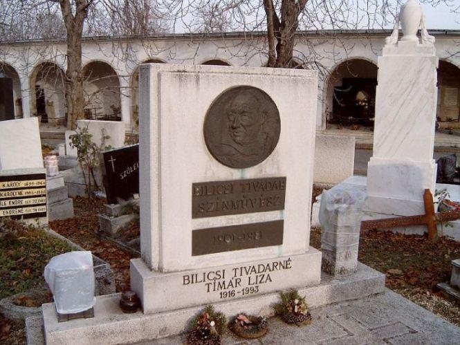 Így néz ki Bilicsi Tivadar síremléke