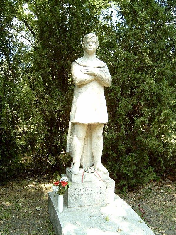 Így néz ki Csortos Gyula síremléke