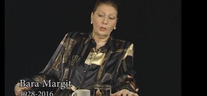 Nyugodjon békében! Emlékezzünk Bara Margitra – videó