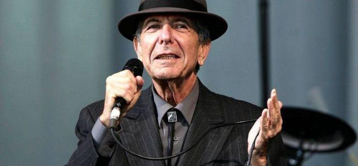 Elhunyt Leonard Cohen – halálát így közölték