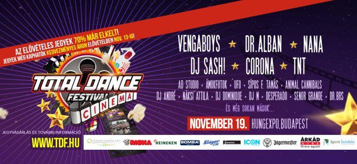 Újítással jön a Total Dance Festival