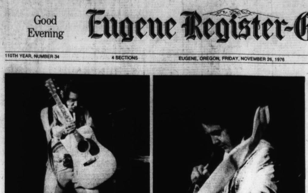 Image result for elvis presley november 25, 1976