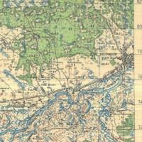 План Петрикова 1931 год с карты Генштаба (34retro)
