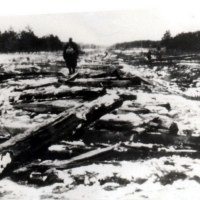 Рельсовая война в Петриковском районе (69retro)