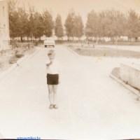Фото Петриков 70-е, тополиный парк в военном городке (72retro)