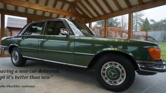 W116 restoration
