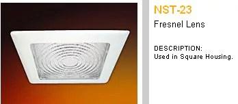 retro lighting square recessed can