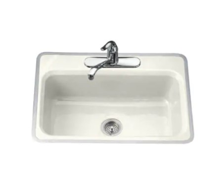 Retro kitchen sinks from Kohler   cast iron  metal framed   my new     hudee ring metal rim kitchen sink
