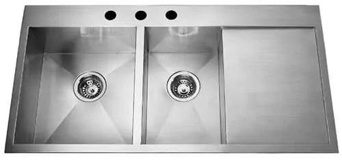 stainless steel drainboard sinks