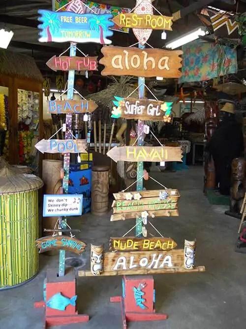 Beach Themed Bar Stools