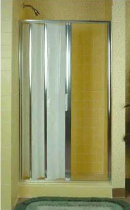 folding accordion tub and shower doors
