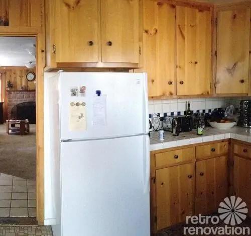 Knotty Pine Kitchen Cabinets