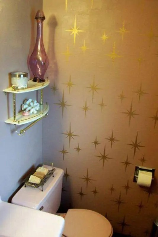 Retro Wall Stencils Patterns And Tips From 8 Reader