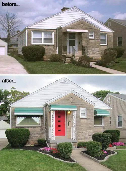 Scott Adds Curb Appeal To His Midcentury Modest House