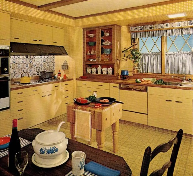 1970s kitchen cabinets | Nrtradiant.com