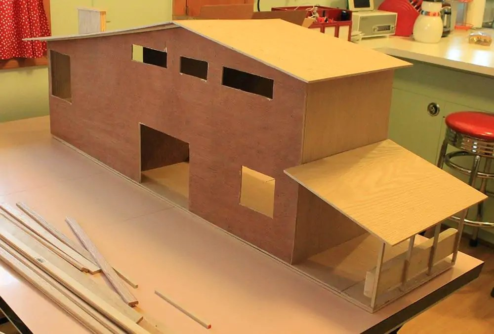 7 Steps And 70 Hours For Kates DIY Dollhouse From